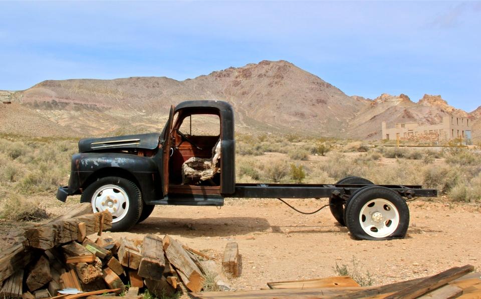 Rhyolite, Nevada Death Valley