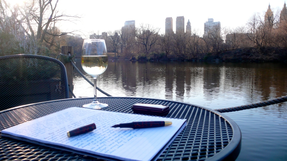 Pen and Ink. Central Park, New York