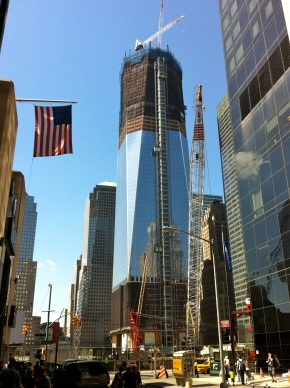 rebuilding ground zero september 11