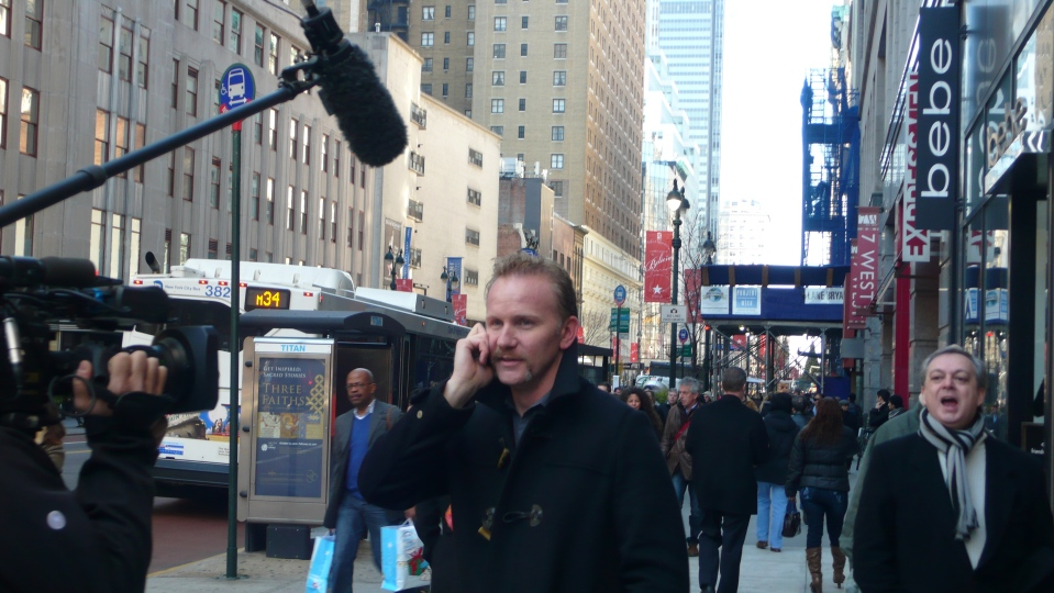 """Morgan Spurlock"""