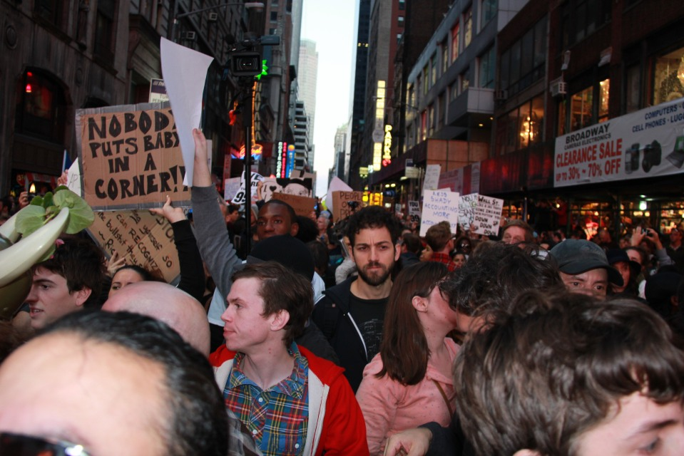 Times Sq March