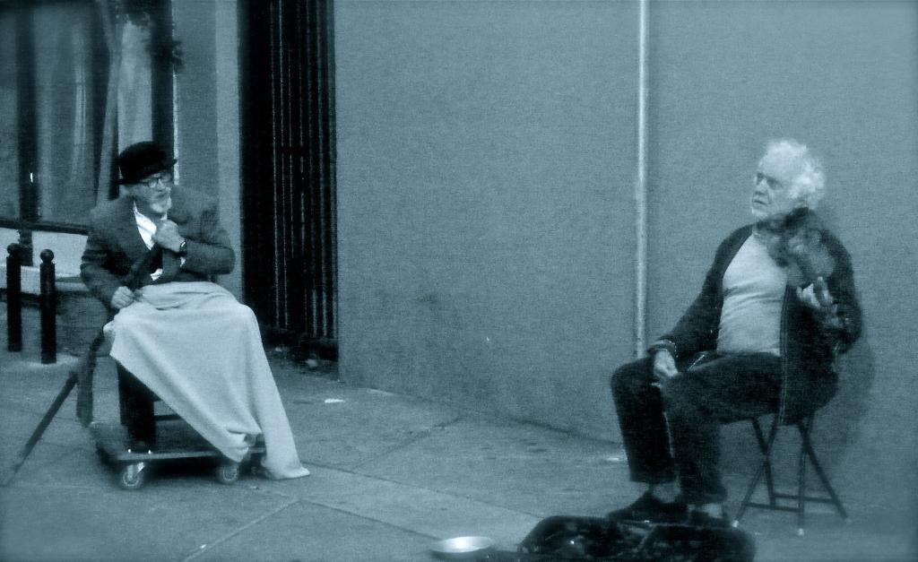 San Francisco street performance