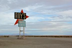Sign in the Desert