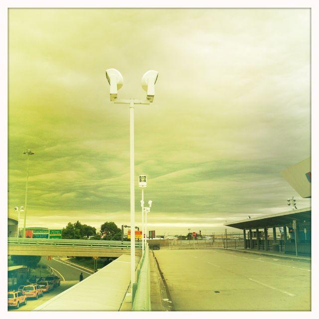 Earbuds in sky