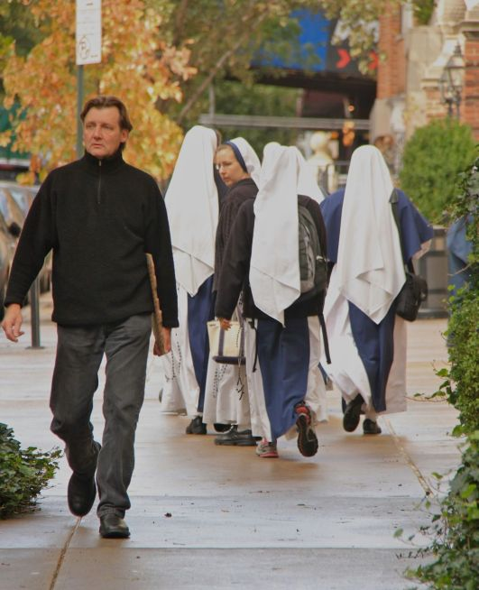 Nuns in the Street