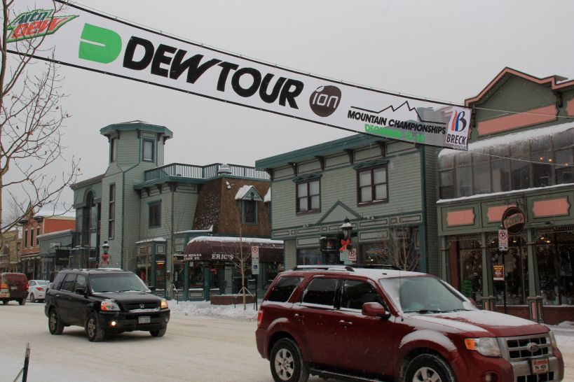 Dew Tour Main St Breckenridge