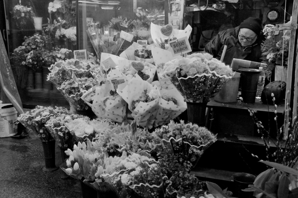 Subway Flower Vendor