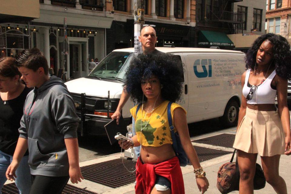 Afro Comeback
