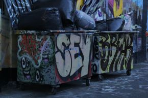 Graffiti Trash 5Ptz