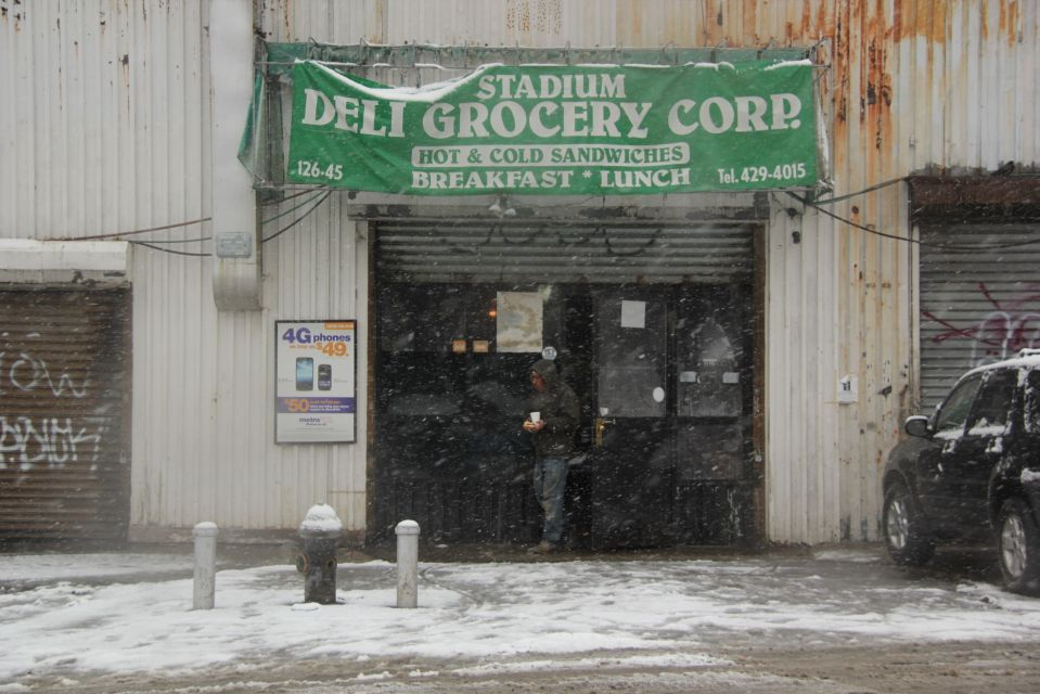 Willets Point in Snow