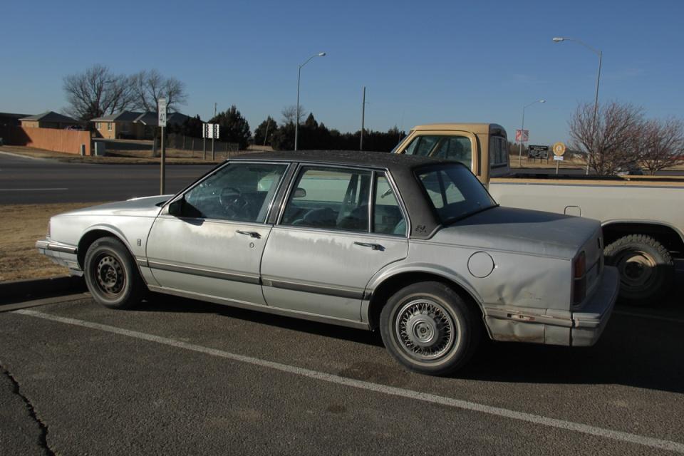 Kansas Car Park Vintage