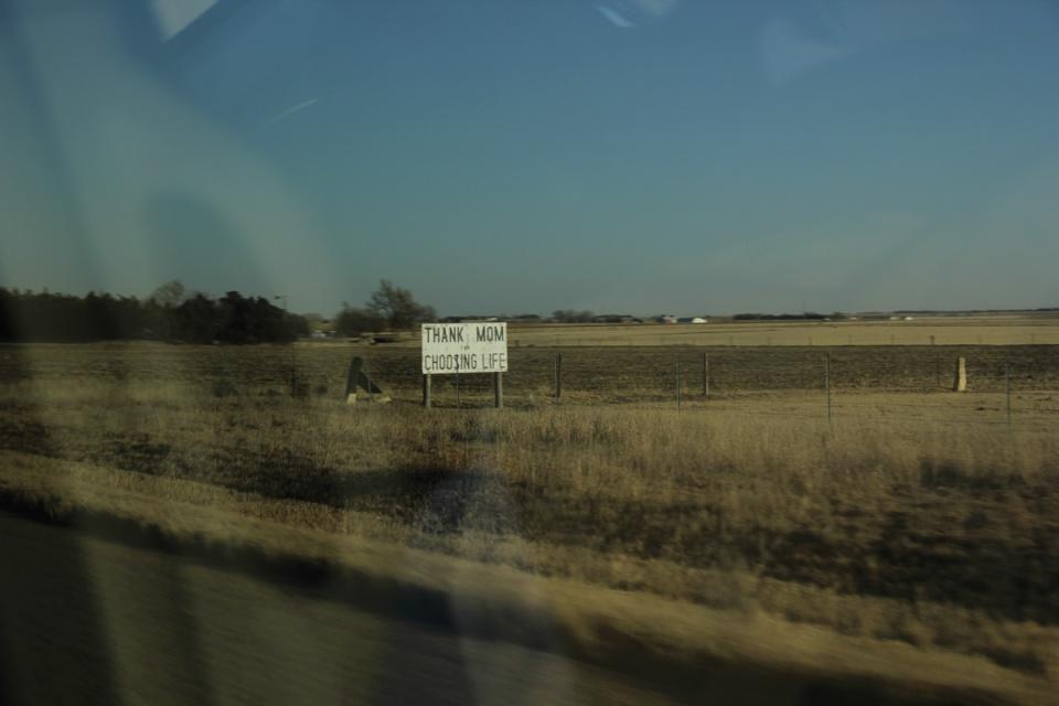 Pro-life Sign Kansas