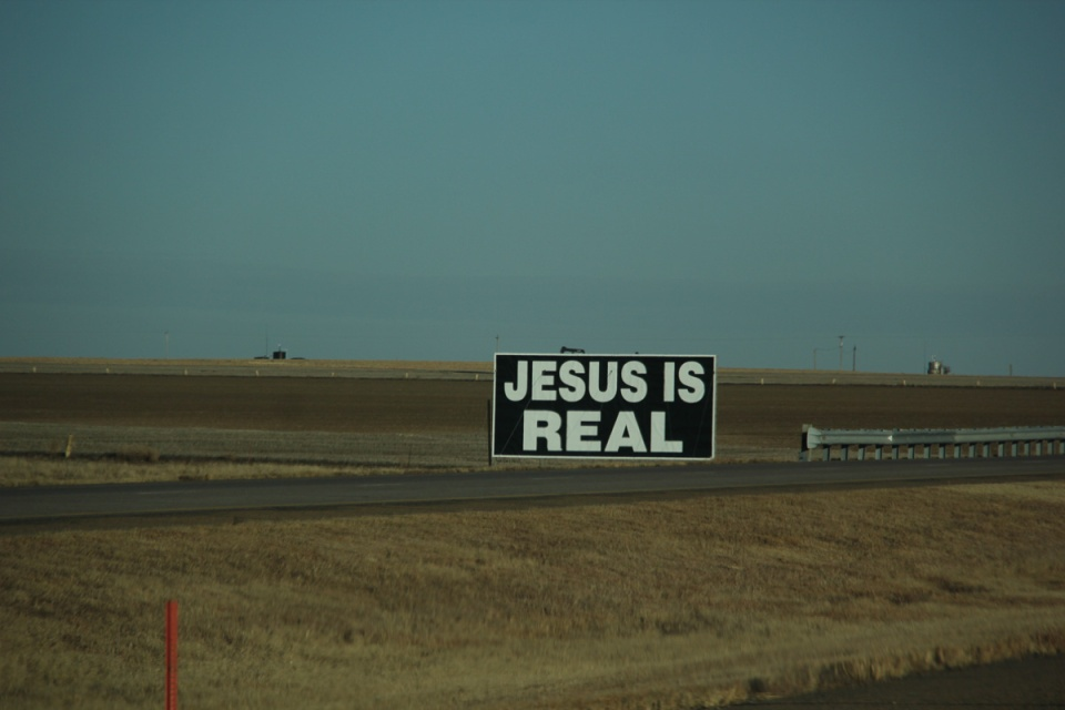 Jesus billboard
