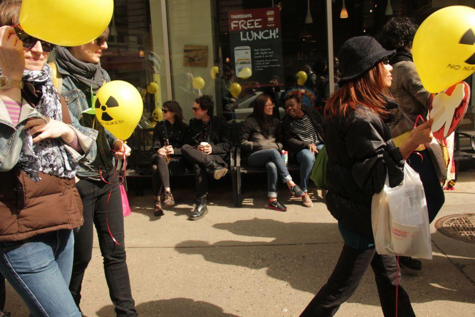 anti nuke protest