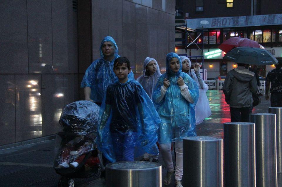 Blue Plastic Family