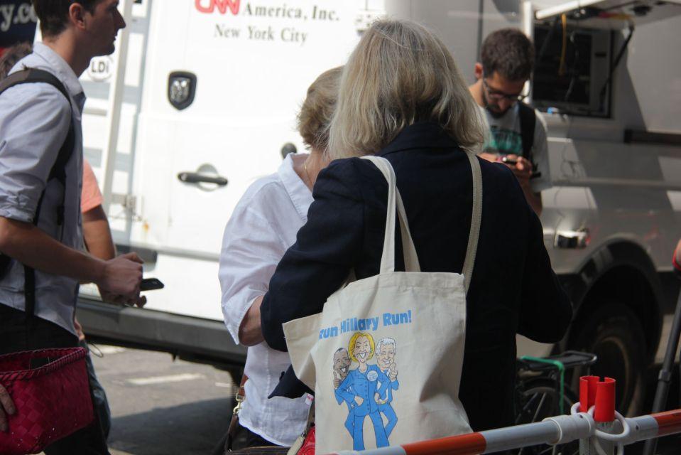 Run Hillary Run campaign bag