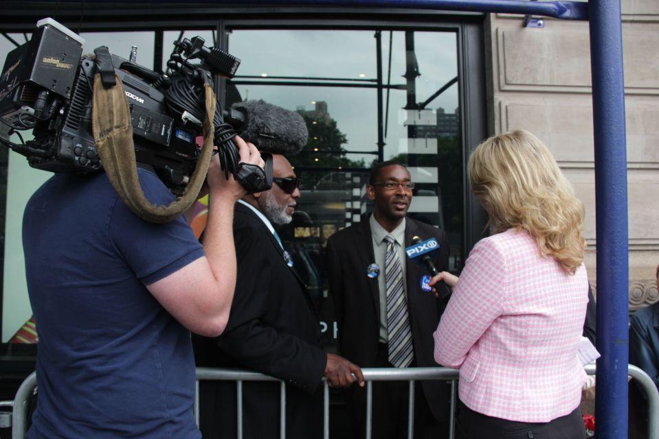 PIX network interview Hillary fan