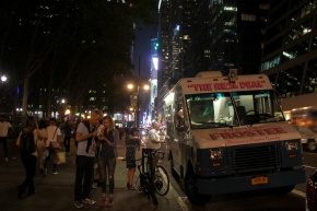 NYC Ice Cream 42nd st Van