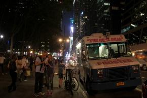 NYC Ice Cream 42nd st Van