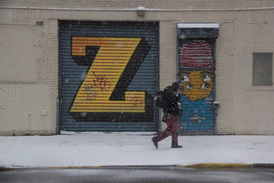 Z Graffiti Mott Haven