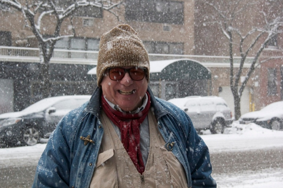 Steve in Snow
