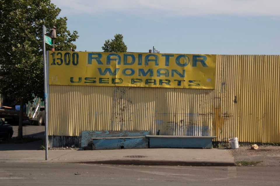 Radiator Woman Spare Parts