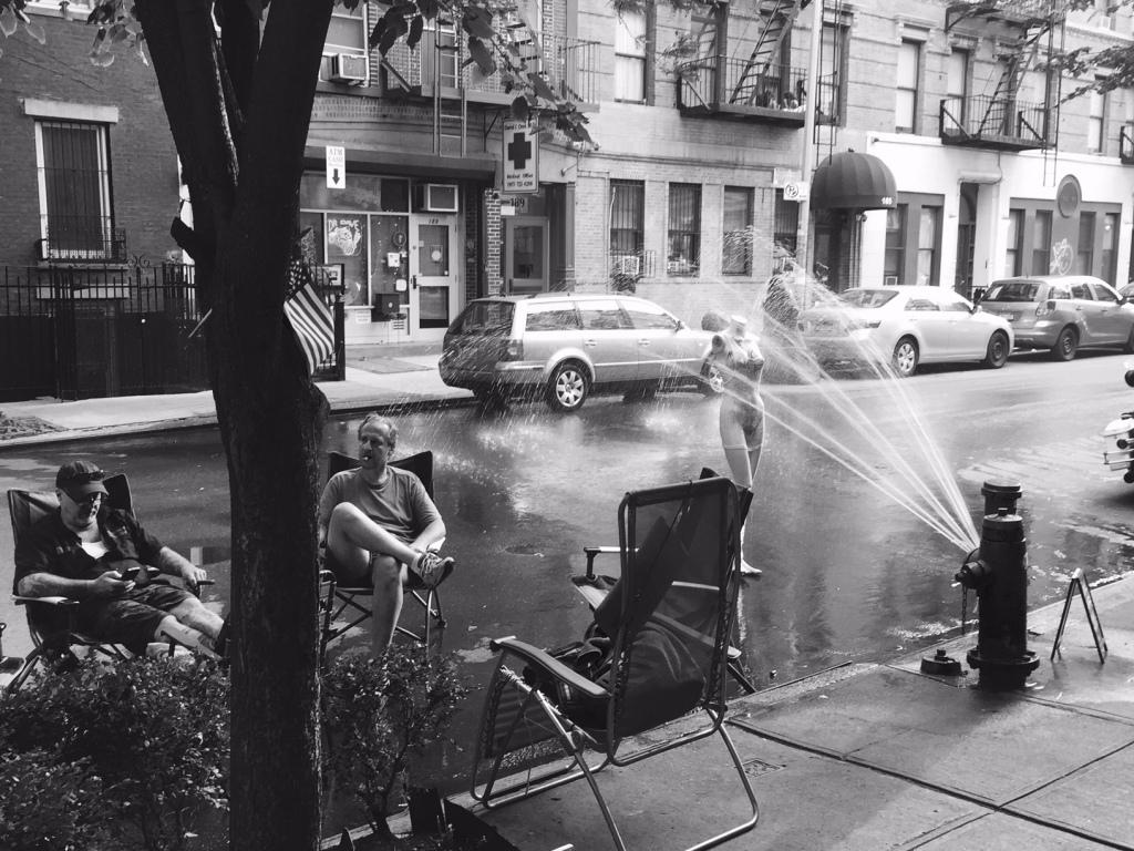 Summer Street Shower