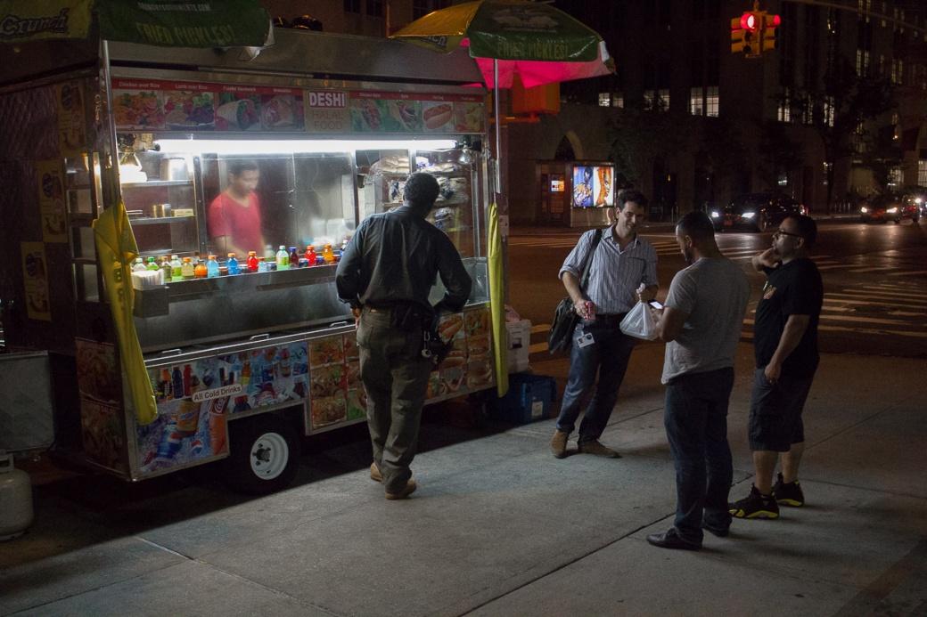 Food Van NYC Night