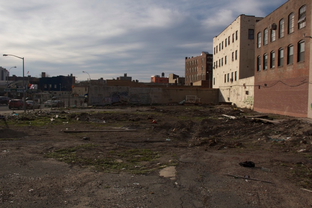 South Bronx vacant lot©PattiFogarty