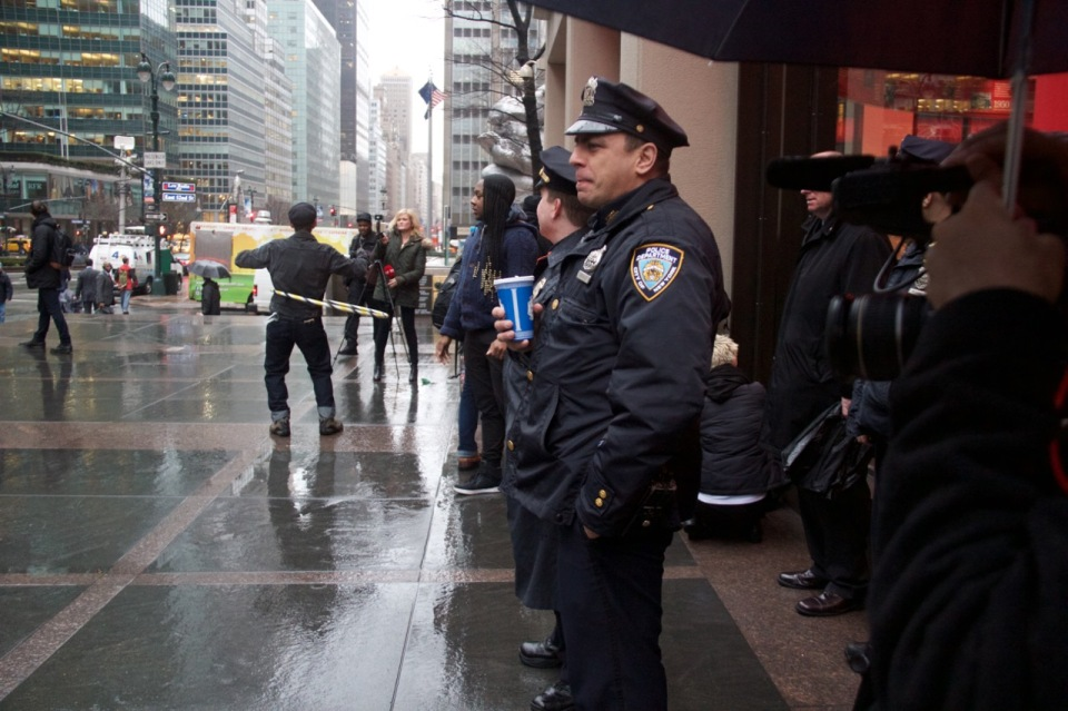 NYPD Bored ©Patti Fogarty