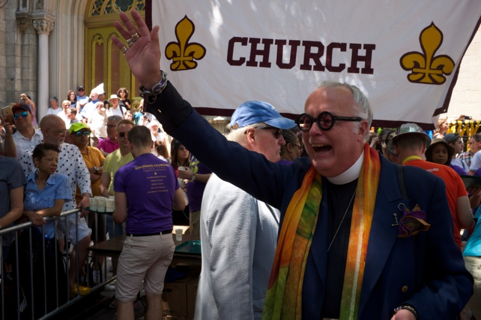Collegiate Church NYC pride 2016