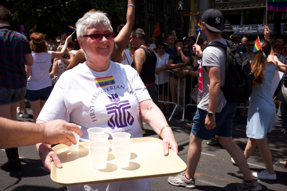 First Presbyterian water carrier nyc pride 2016