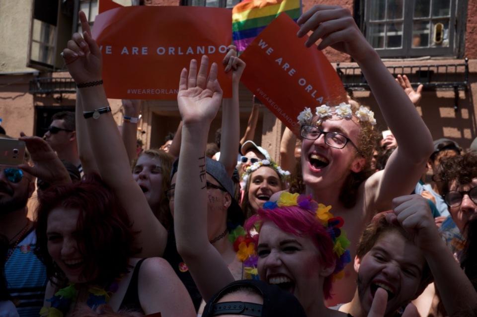 We Are Orlando signs NYC Pride 2016