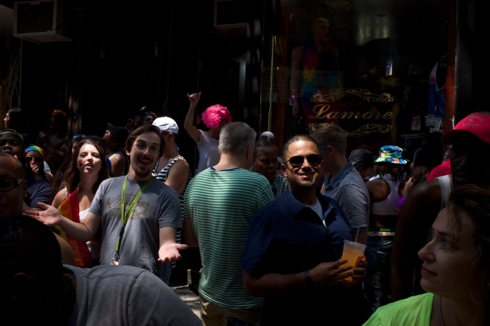 street crowd NYC pride 2016