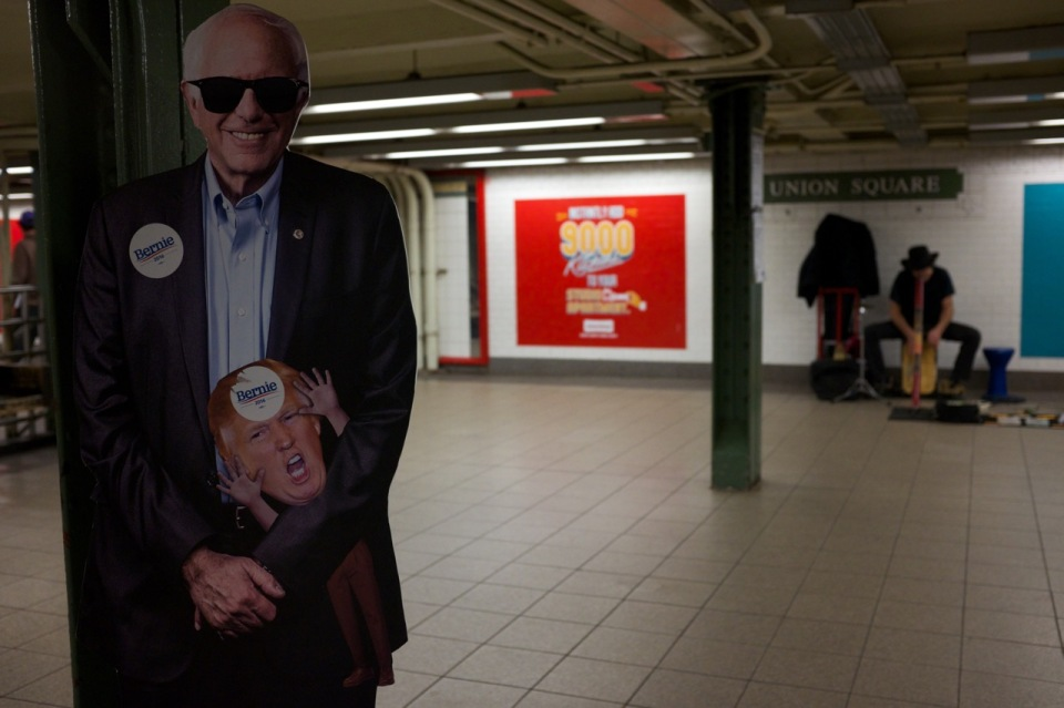 Subway Bernie©Patti Fogarty