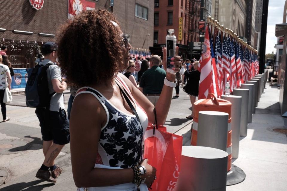 Stars Stripes WTC